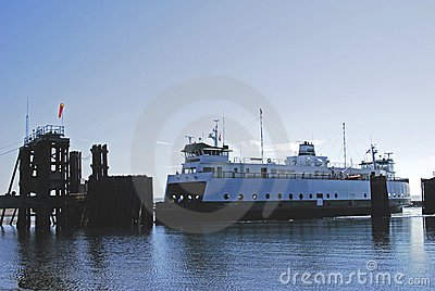 Washington state ferry boat
