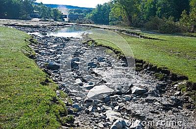 Washout Erosion Editorial Image