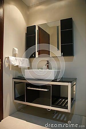 The washroom of hotel