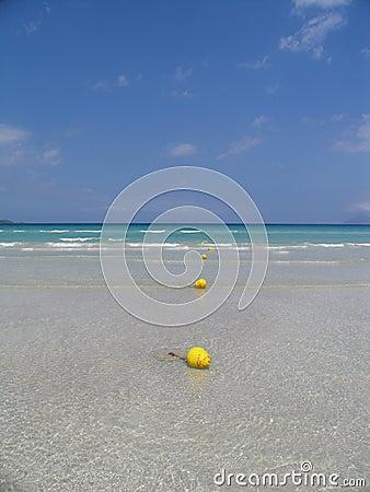 Wasser, Sand, Meer u. Himmel