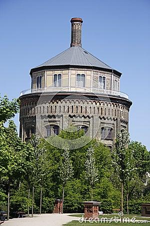 Free Wasserturm Berlin Stock Photography - 49785782