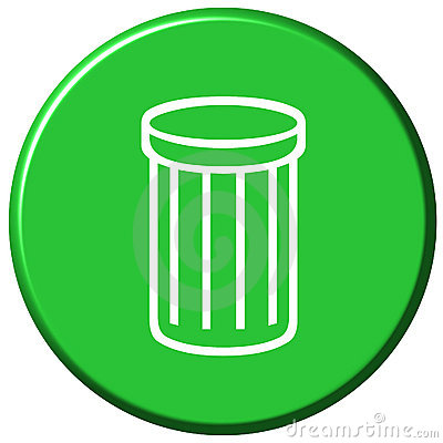 Waste Bin Button