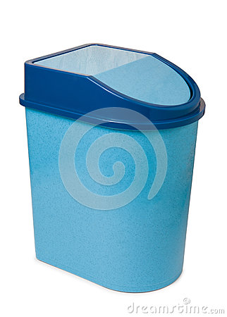 Waste bin with lid