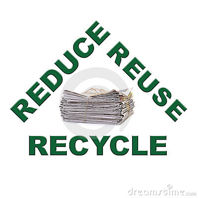 Waste paper recycling