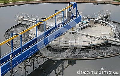 Waste vatten för växtbehandling