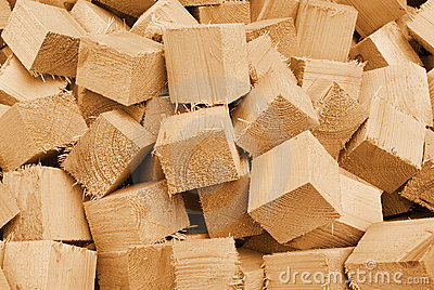 Waste wood timber background