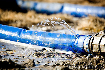 wasting water royalty free stock photography   image 2164717