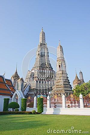 Wat aroon landmark of bangkok thailand