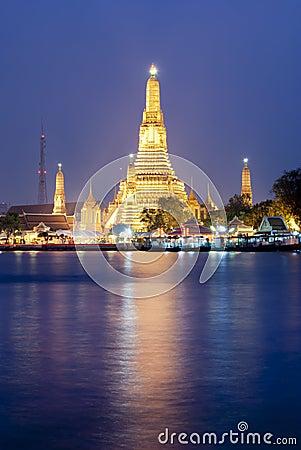 Free Wat Arun Temple Stock Photo - 19997640