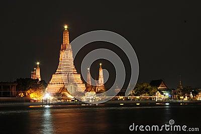 Wat Arun temple in Bangkok,Thailand