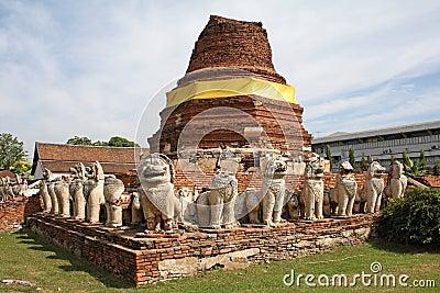 Wat, Ayutthaya
