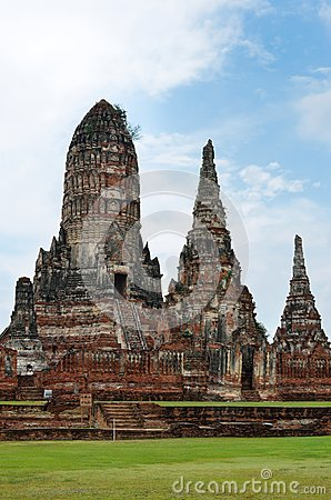 Wat Chai Wattanaram, Ayutthaya, Thailand.