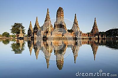 Wat chaiwattanaram in Ayutthaya
