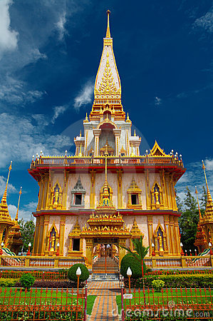 Free Wat Chalong Royalty Free Stock Photos - 1699128