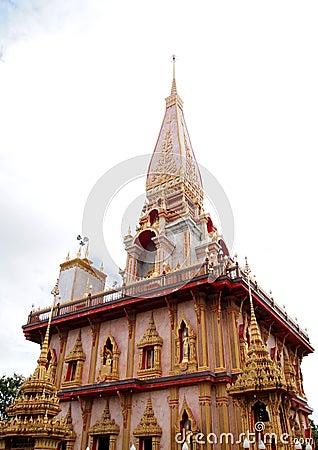 Free Wat Chalong Temple At Phuket Thailand Stock Photography - 18392642