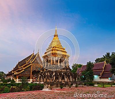 Wat Chedi Luang. Chiang Mai, Thailand
