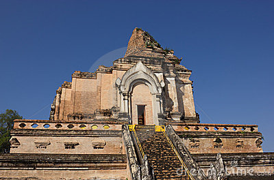 Wat Chedi Luang, old temple