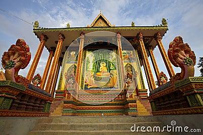 Wat Chowk Pagoda Cambodia