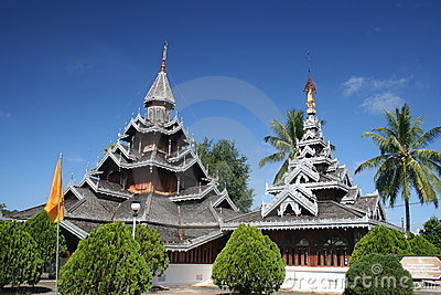 Wat Hua Wiang, Mae Hong Son, Thailand