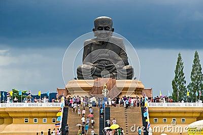 Wat Huay Mongkol Temple Editorial Photo
