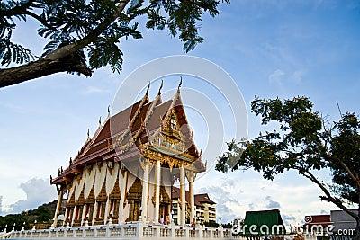 Wat Khao Lan Thom Temple Editorial Stock Image