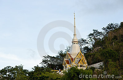 Wat Khao Takiab Buddhist Temple Editorial Photo