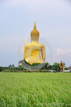 Wat Muang Stock Photo