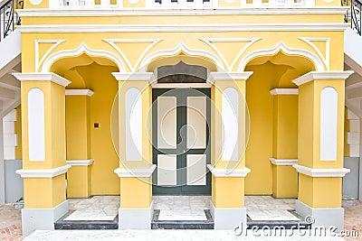 Wat Nivet Portuguese style