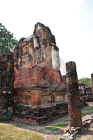 Wat phapayluang sukhothai in thailand