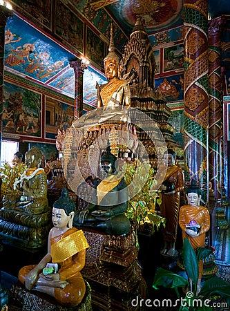 Wat Phnom in Cambodia