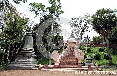 Wat Phnom at Phnom Penh, Cambodia