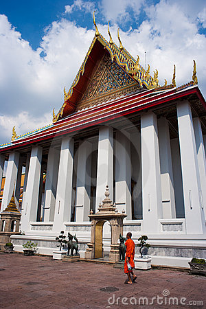 Wat Pho Editorial Stock Photo