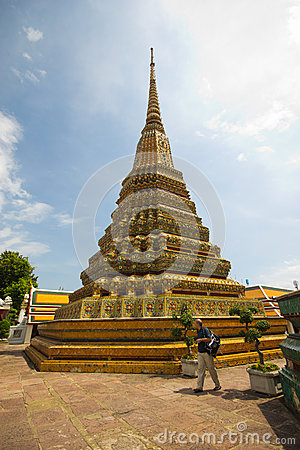 Wat Pho Editorial Image