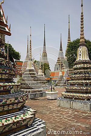 Wat Pho Monastery - Bangkok - Thailand