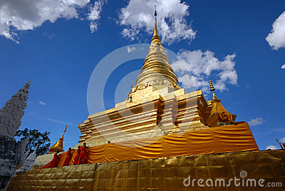 Wat Phra That Chae Haeng[ Pagoda]. Editorial Photography