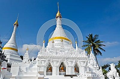 Wat Phra That Doi Kong Mu Temple, Thailand. Stock ...