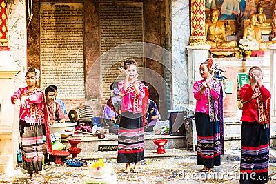 Wat Phra That Doi Suthep Editorial Image