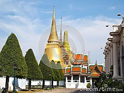 Wat Phra Kaeo, Grand Palace (Bangkok, Thailand)