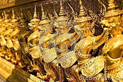 Wat Phra Kaeo Temple, bangkok, Thailand.