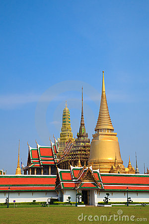 Free Wat Phra Kaew, Grand Palace, Bangkok, Thailand Stock Photo - 18774070