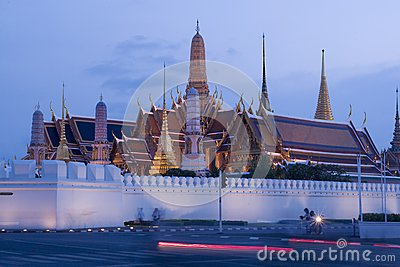 Wat Phra Kaew : The royal temple of Bangkok , Thai
