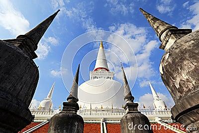 Wat Phra Mahathat temple, Nakhon Si Thammarat, Thailand