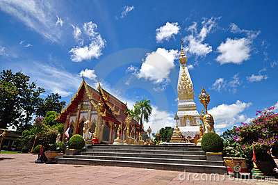 Wat Phra That Phanom of Thailand
