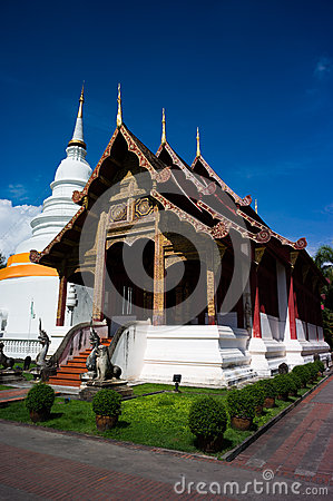 Wat Phra Singh Editorial Stock Photo