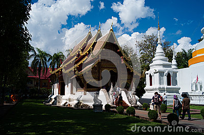 Wat Phra Singh Editorial Photo