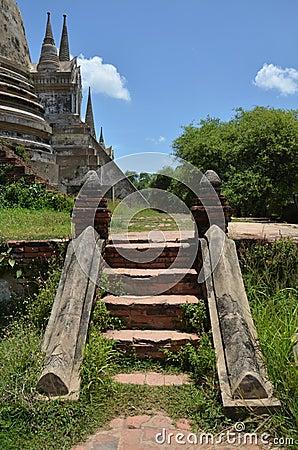 Wat Phra Sri Sanphet at Ayutthaya Historical Park Thailand