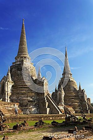 Free Wat Phra Sri Sanphet Temple, Ayutthaya Royalty Free Stock Image - 28725566