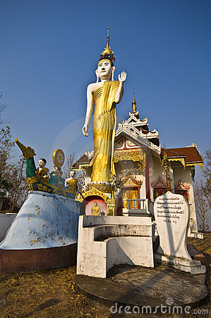 Free Wat Phra That Doi Kong Mu Stock Image - 19474211