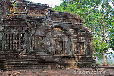 Wat Phu Khmer temple in Laos