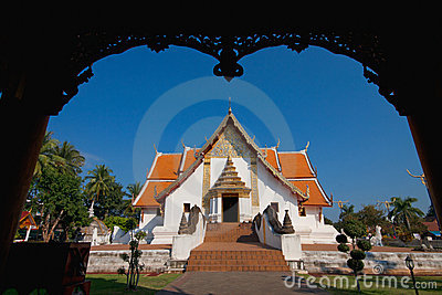 Wat phu min in Nan Thailand